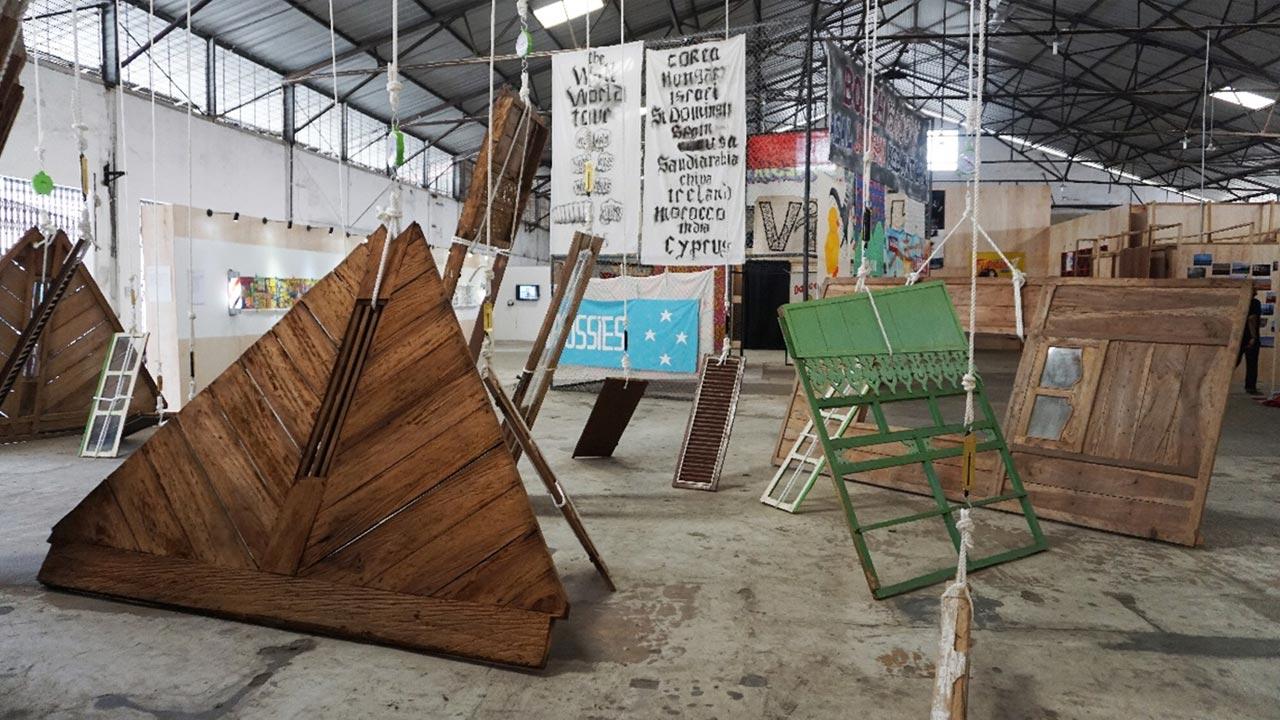 Leonardiansyah Allenda, 'Home', object installation, Jakarta Biennale 2015